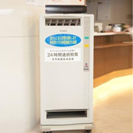 写真:医療用空気清浄機