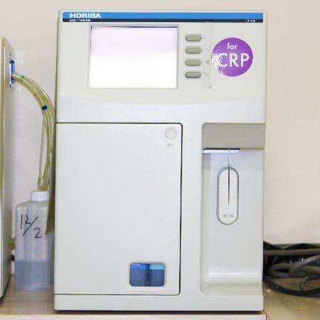 写真:CRP測定装置