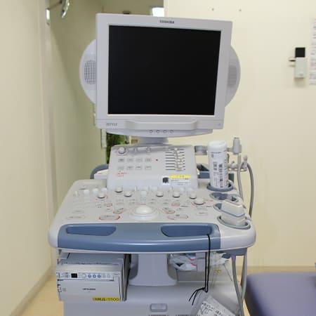 写真:エコー(超音波診断装置)